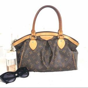 LOUIS VUITTON Monogram Tivoli GM Shoulder Handbag